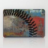 Painted Baseball iPad Case