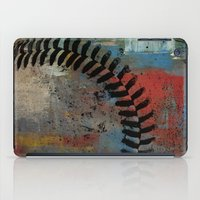 Painted Baseball iPad Case