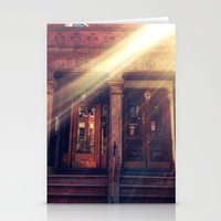 Doors with Flare Stationery Cards