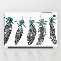 Feather Bunting 2 iPad Case