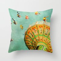 You Spin Me Right Round … Throw Pillow