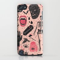 iPhone Cases featuring Whole Lotta Horror by Josh Ln