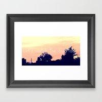 Let's Watch The Sunrise Framed Art Print