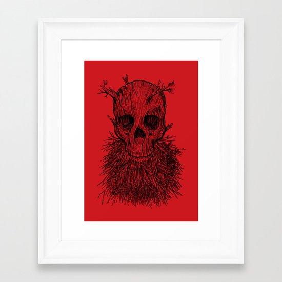 The Lumbermancer Framed Art Print