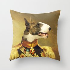 General Bully Throw Pillow