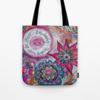Be Brave. Love Deeply. S… Tote Bag