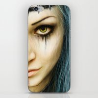 Unstoppable: A Vampiric Warrior  iPhone & iPod Skin