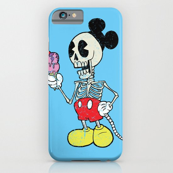 Mickey Bones iPhone & iPod Case
