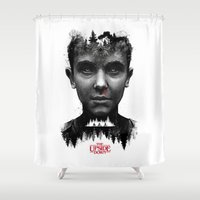 The Upside Down Shower Curtain