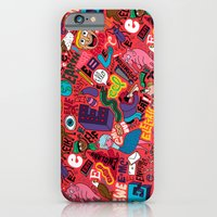 iPhone & iPod Case featuring E Pattern by Chris Piascik