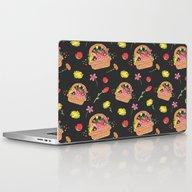 La Fleur Pattern Laptop & iPad Skin