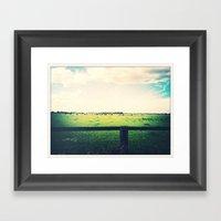 Farm Framed Art Print