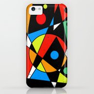 Abstract #120 iPhone 5c Slim Case
