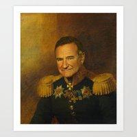 Robin Williams - Replace… Art Print