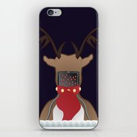 Christmas Card - I Can't Find Britain! iPhone & iPod Skin