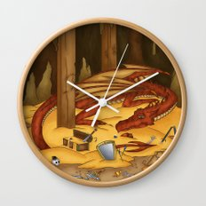 Smaug, the last dragon Wall Clock
