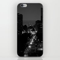 Night Eyes iPhone & iPod Skin