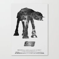 Star Wars - The Empire Strikes Back Canvas Print
