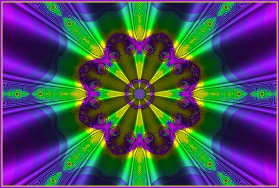 Silk Parasol Art Print
