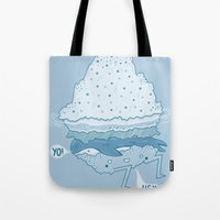 Iceburger Tote Bag