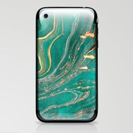Ocean Gold iPhone & iPod Skin