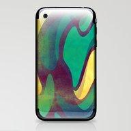 Waves iPhone & iPod Skin