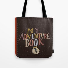 my adventure book.. up, carl and ellie Tote Bag