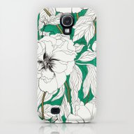 iPhone & iPod Case featuring Green Peonies by Marcella Wylie