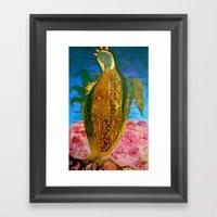 Corn Maiden Framed Art Print