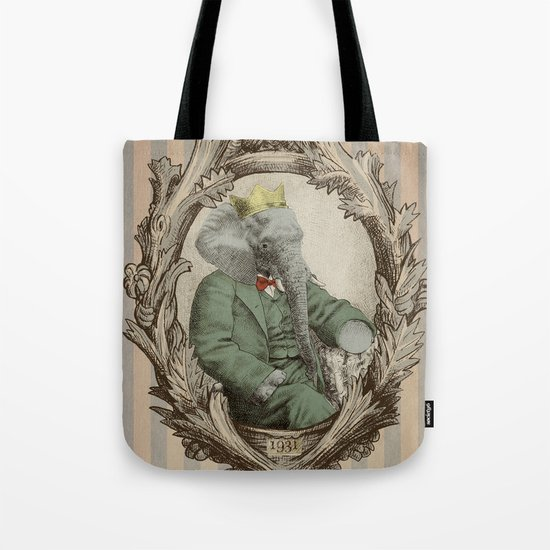 Royal Portrait, 1931 Tote Bag