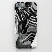 Abstract Zebra Grazing iPhone 6 Slim Case