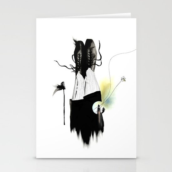 THE SHOES Stationery Card