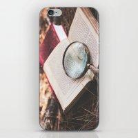 learn + explore. iPhone & iPod Skin