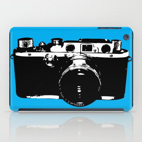 Leica in Blue iPad Case