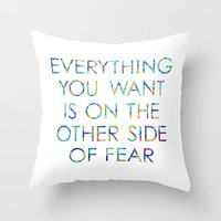 Everything You Want Throw Pillow
