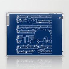 The Moonlight Sonata Blue Laptop & iPad Skin