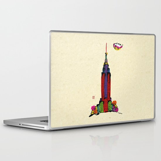 The Empire State Building Laptop & iPad Skin