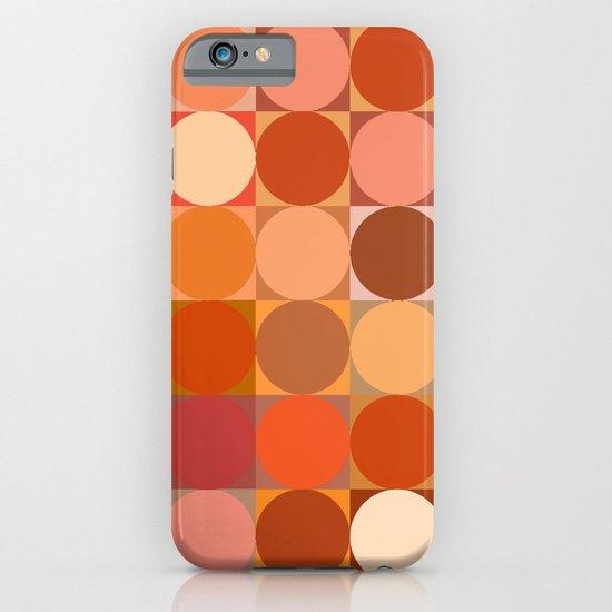 Arancione iPhone & iPod Case