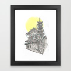 City of Lanterns Framed Art Print