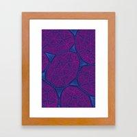 Tidepool Geo Framed Art Print