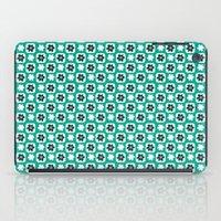 Emerald flower iPad Case