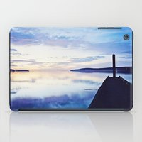 Dock At Dusk, Sequim Bay… iPad Case