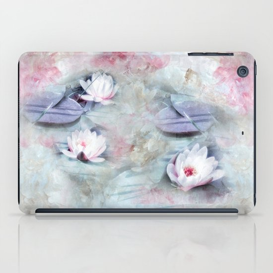 SUMMER LILY POND iPad Case