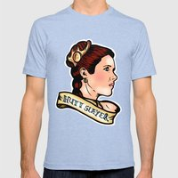 Leia Hutt Slayer Mens Fitted Tee Tri-Blue SMALL