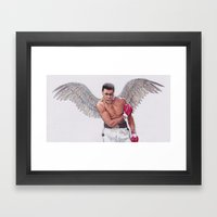 ANGEL ALI! Framed Art Print