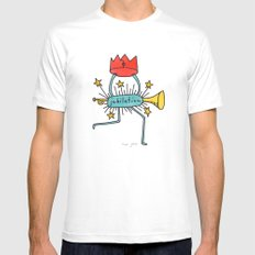 jubilation SMALL Mens Fitted Tee White