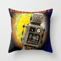 :: RETRONAUT Throw Pillow