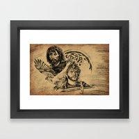 The Celts Framed Art Print