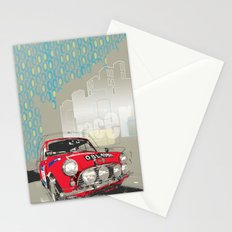 mini racer Stationery Cards