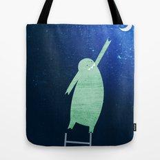 Monster Moon Tote Bag